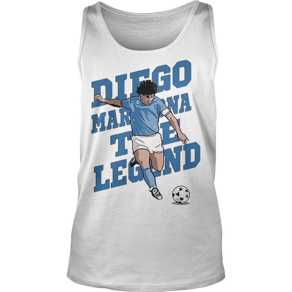 The Legend Diego Maradona Tank Top