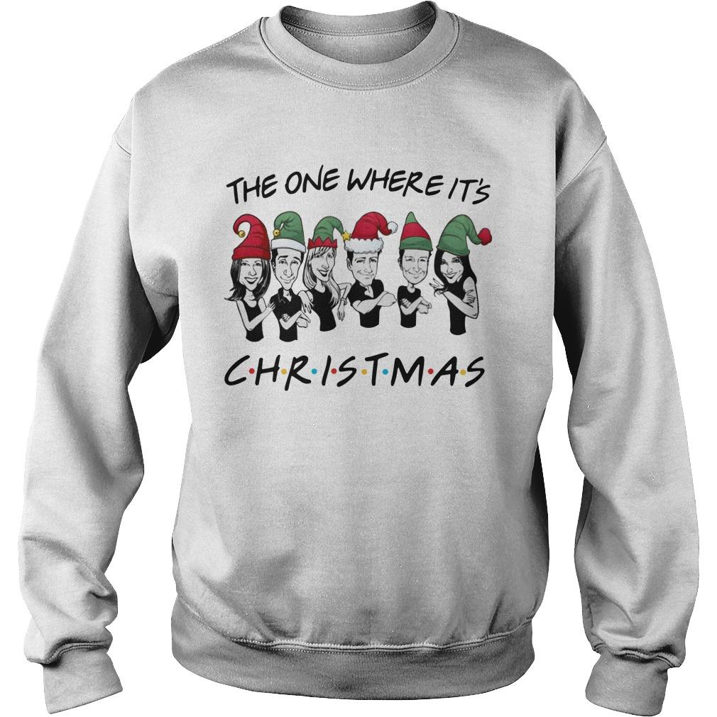 The One Where It's Christmas Sweater