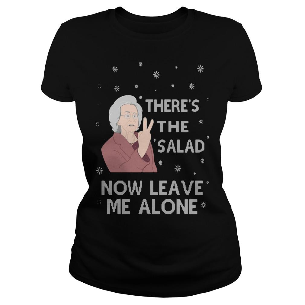 There's The Salad Now Leave Me Alone Longsleeve