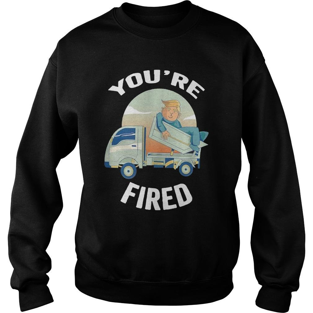Truck Donald Trump You're Fired Sweater