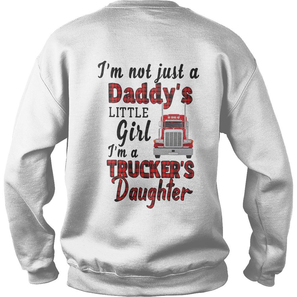 Trucker's Daughter I'm Not Just A Daddy's Little Girl Sweater