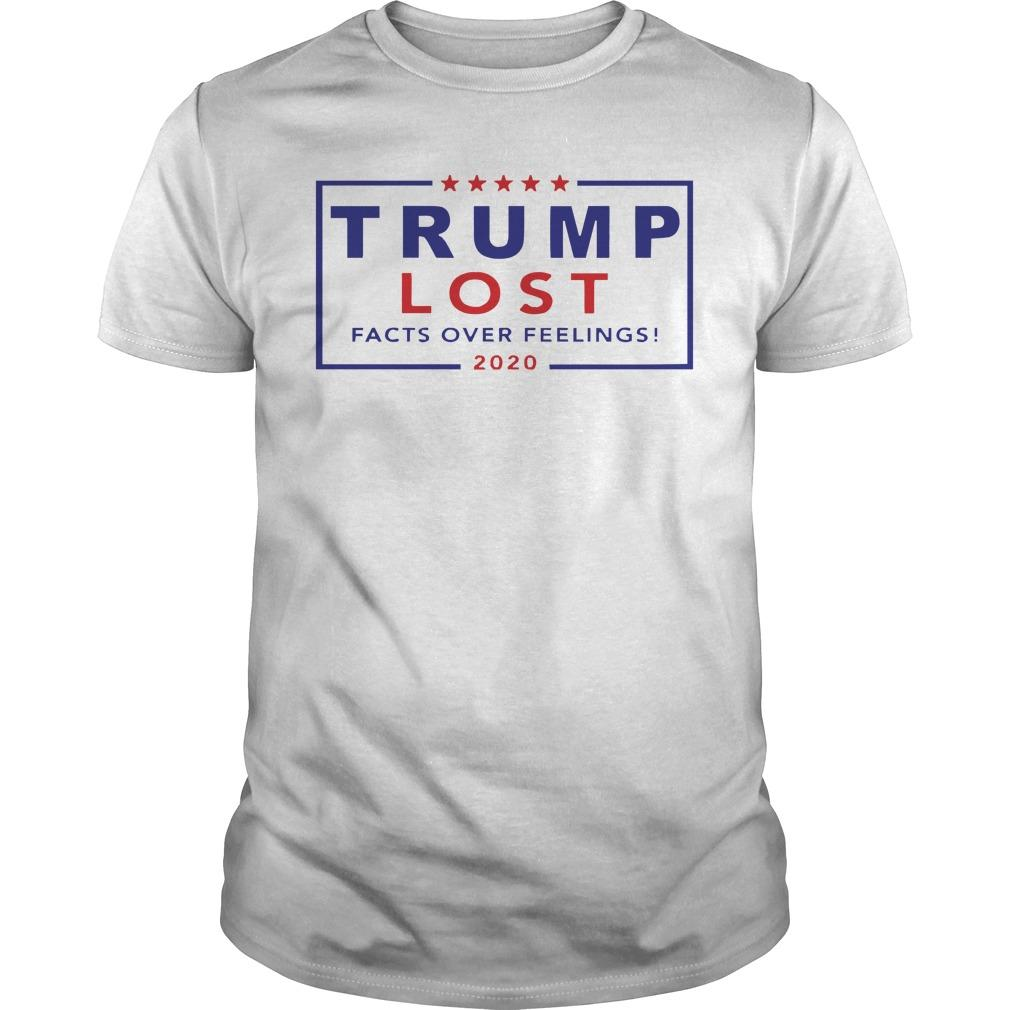 Trump Lost Facts Over Feelings 2020 Longsleeve