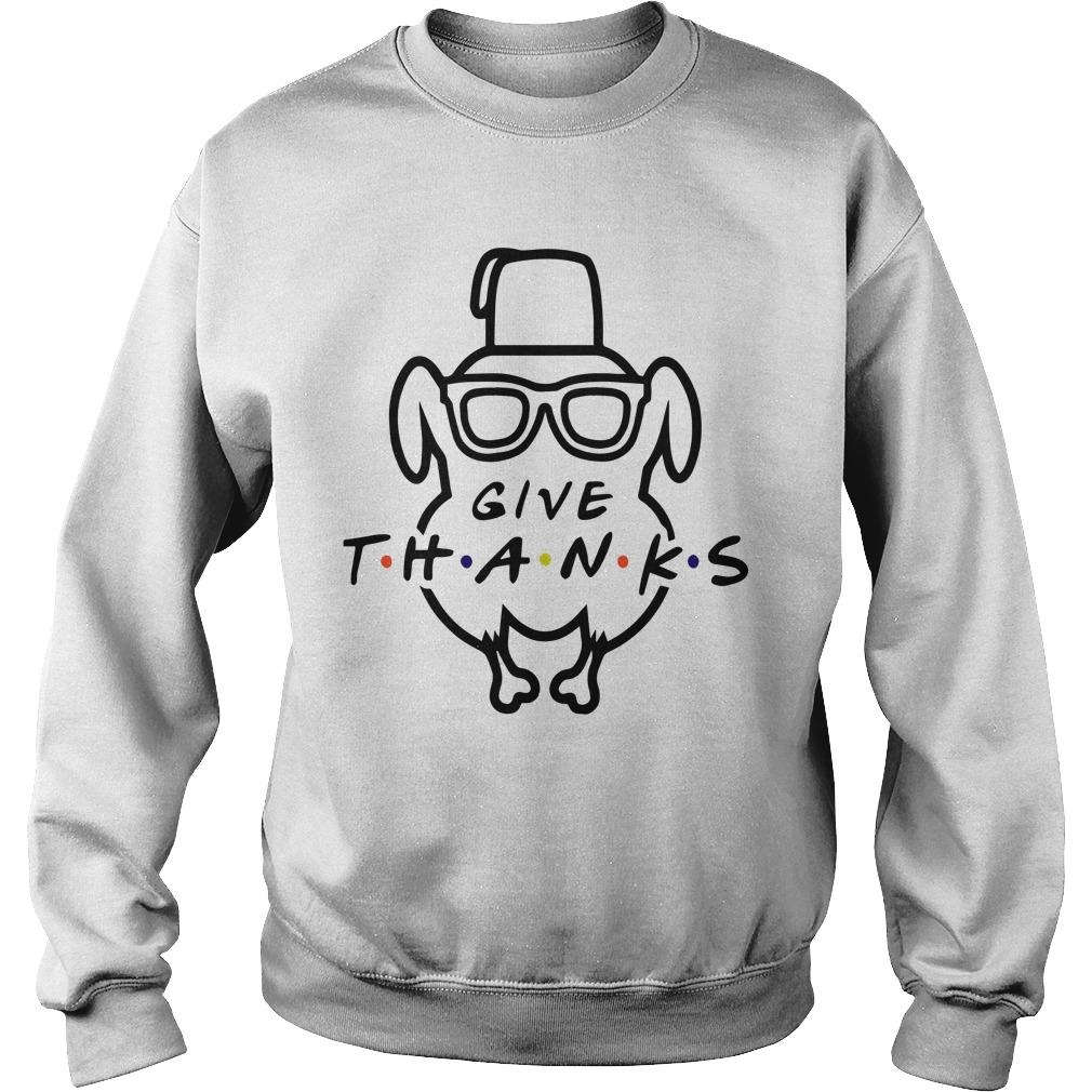 Turkey Give Thanks Sweater