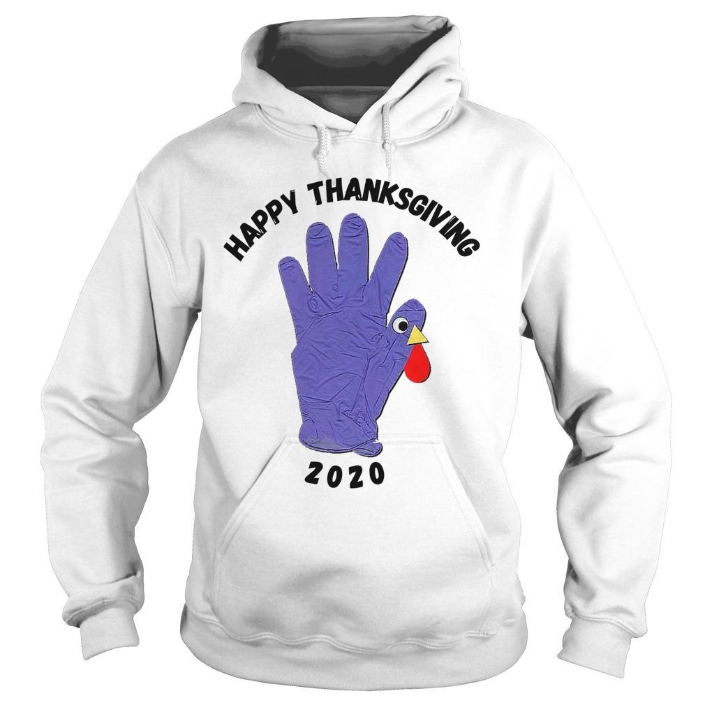 Turkey Glove Happy Thanksgiving 2020 Hoodie