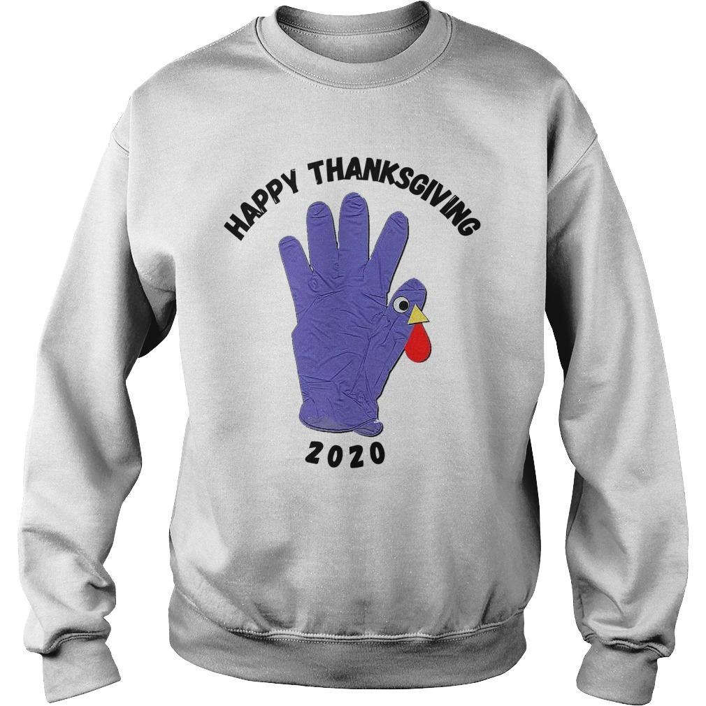 Turkey Glove Happy Thanksgiving 2020 Sweater