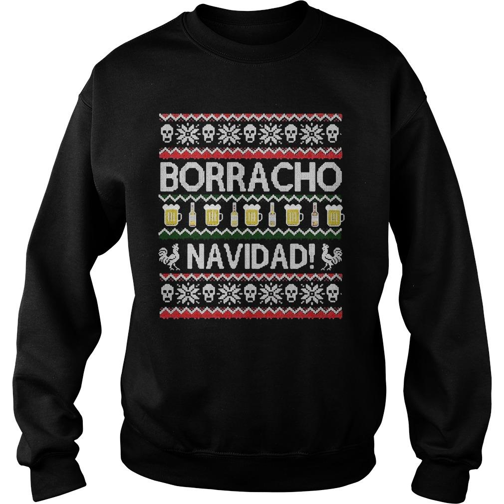 Ugly Christmas Chingon Borracho Navidad Sweater