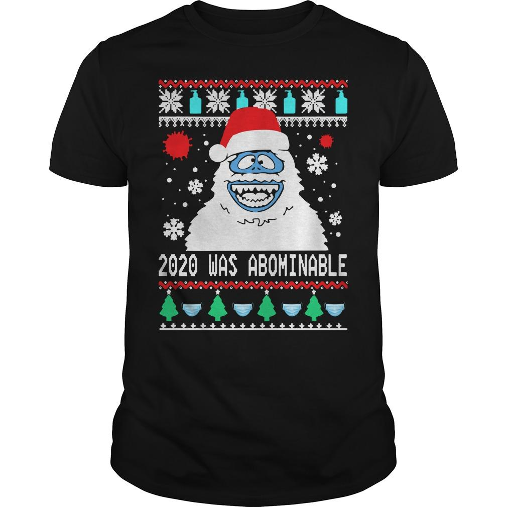 Ugly Christmas Snowman 2020 Was Abominable Longsleeve