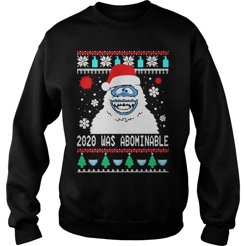 Ugly Christmas Snowman 2020 Was Abominable Sweater