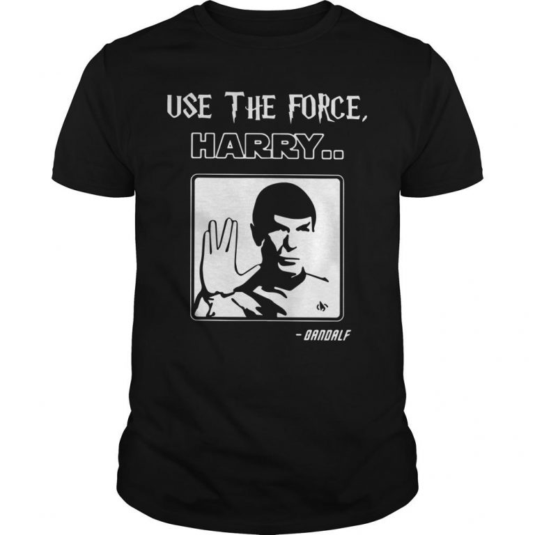 Use The Force Harry Gandalf Shirt