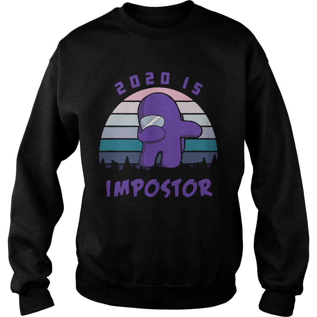 Vintage Among Us 2020 Is Impostor Sweater