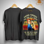 Vintage Feminists The Soul Of A Witch The Fire Of A Lioness Shirt