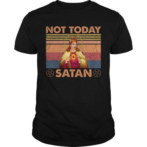 Vintage Not Today Satan Shirt