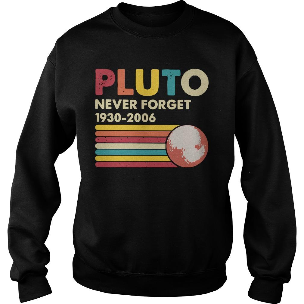 Vintage Pluto Never Forget 1930 2006 Sweater