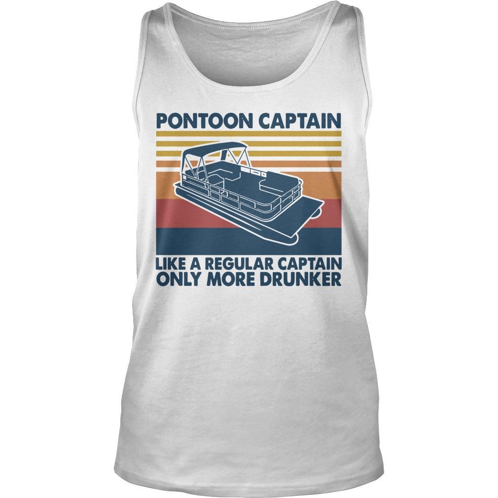 Vintage Pontoon Captain Tank Top