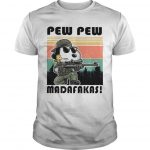 Vintage Snoopy Pew Pew Madafakas Shirt