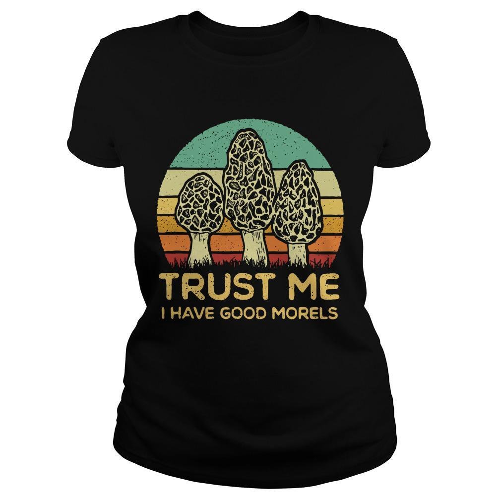 Vintage Trust Me I Have Good Morels Longsleeve