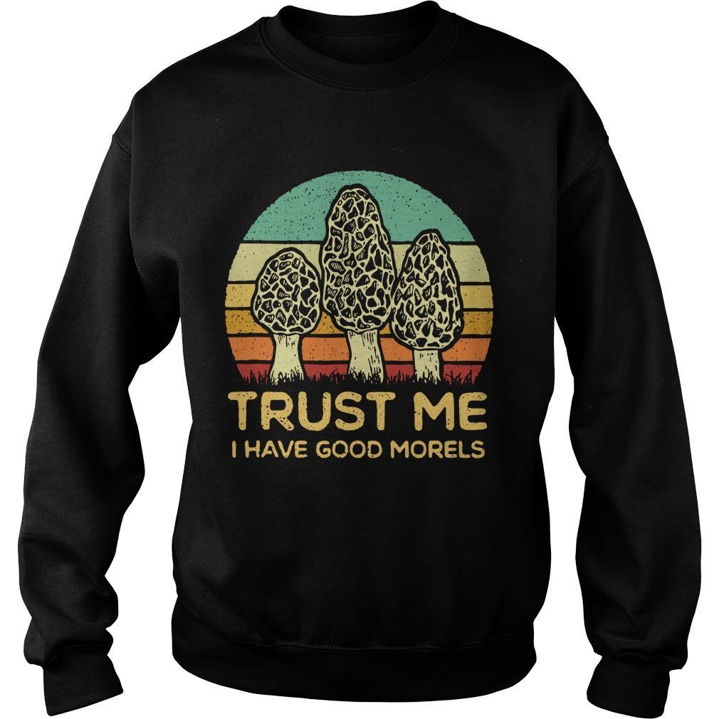 Vintage Trust Me I Have Good Morels Sweater