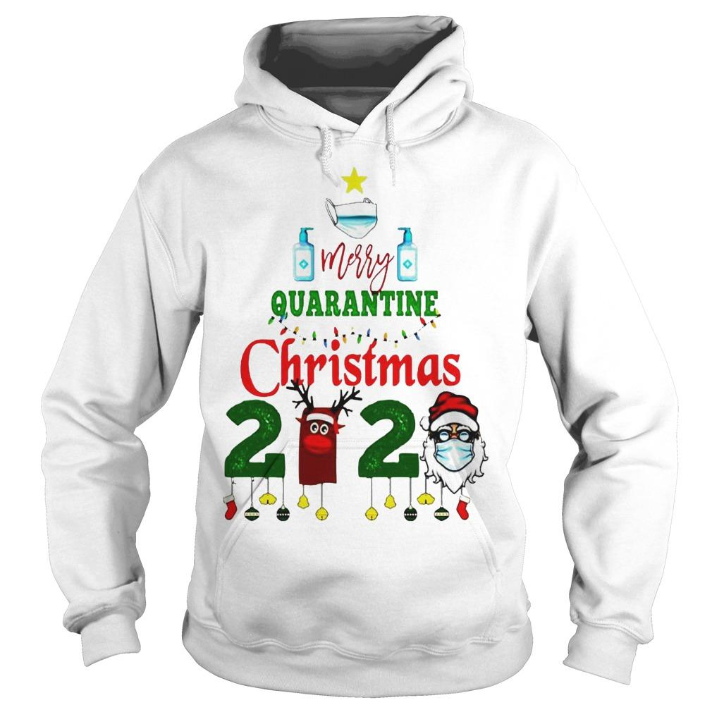 We Survived Merry Quarantine Christmas 2020 Hoodie