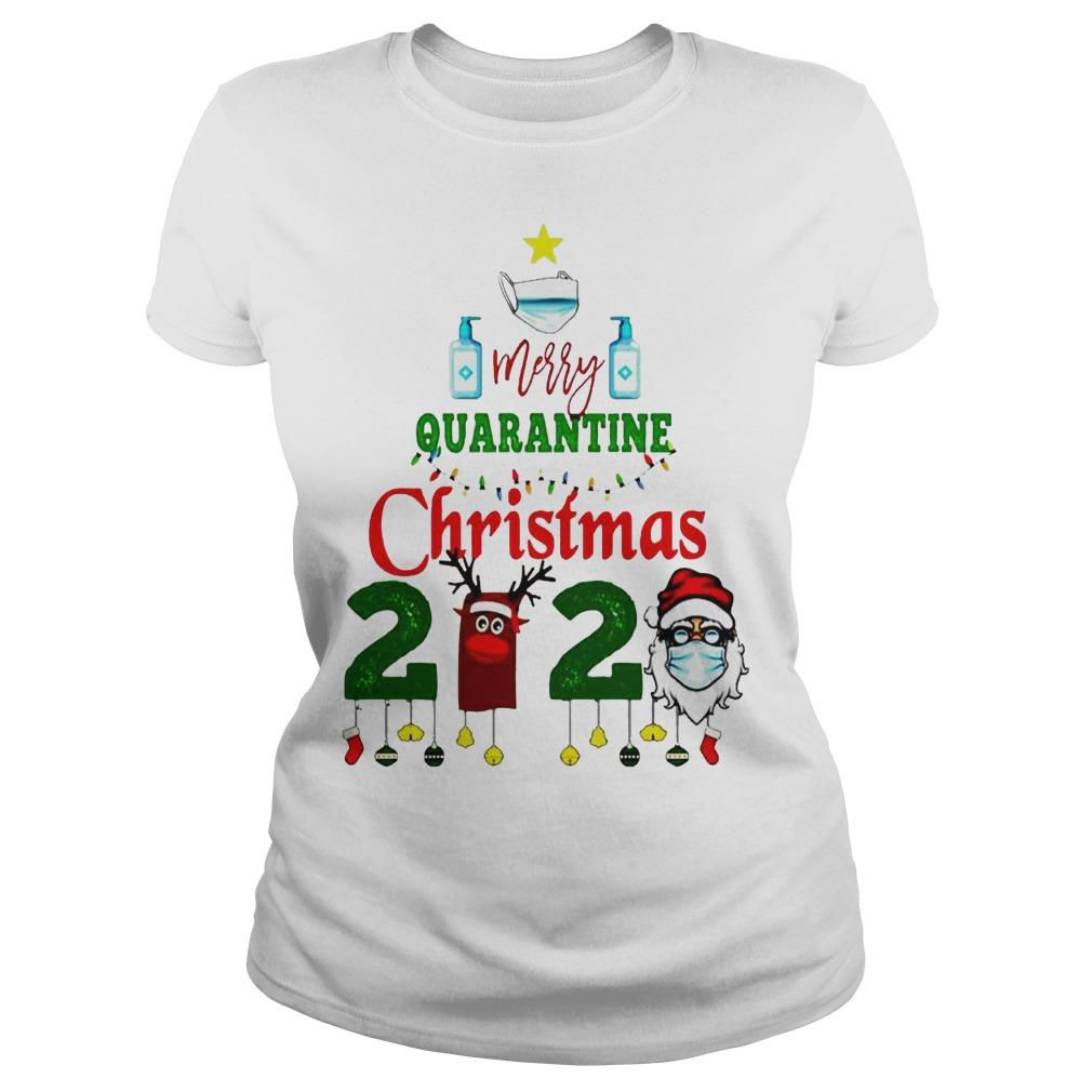 We Survived Merry Quarantine Christmas 2020 Longsleeve