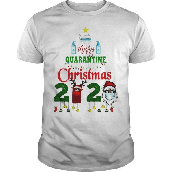 We Survived Merry Quarantine Christmas 2020 Shirt