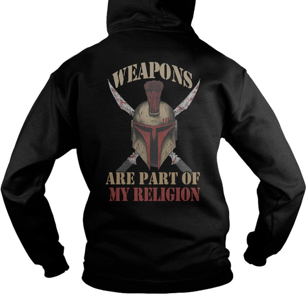 Weapons Are Part Of My Religion Hoodie