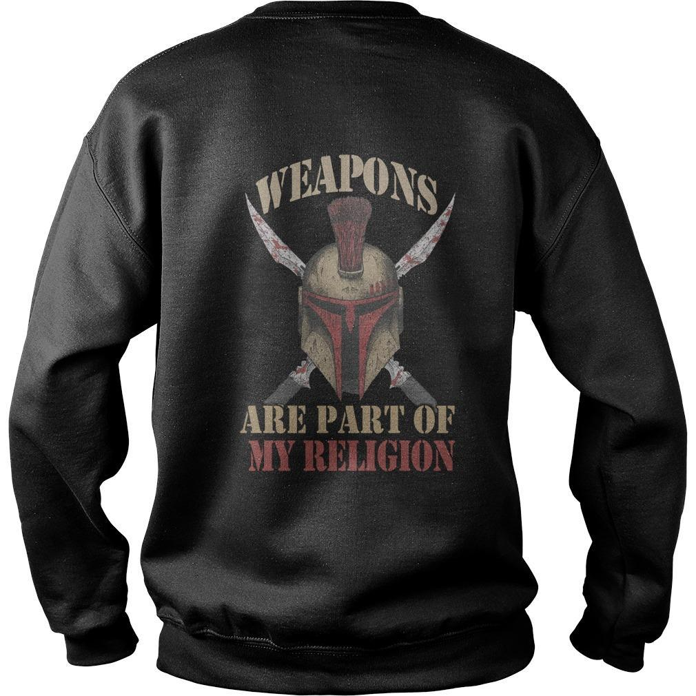 Weapons Are Part Of My Religion Sweater