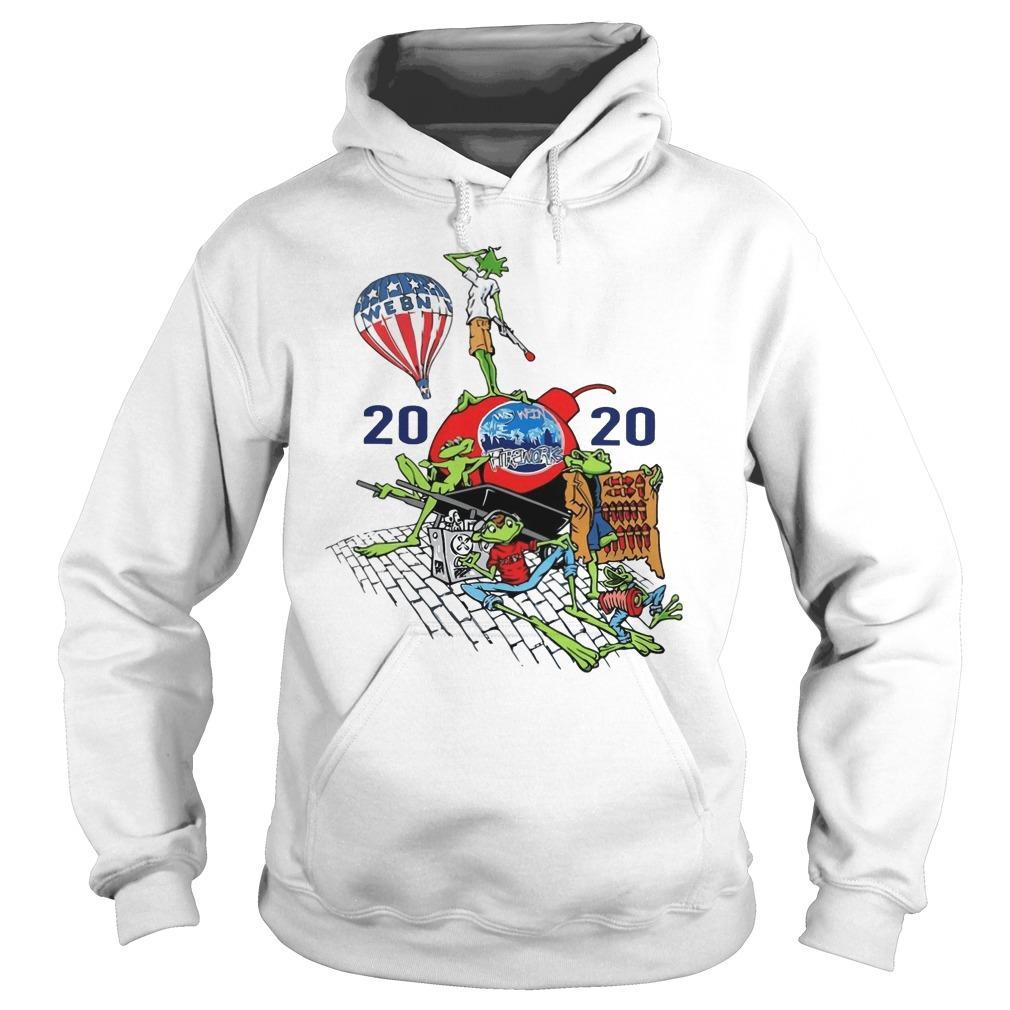 Webn Fireworks 2020 T Hoodie