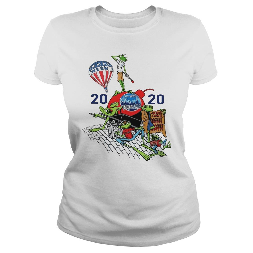 Webn Fireworks 2020 T Longsleeve