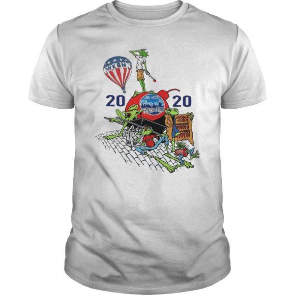 Webn Fireworks 2020 T Shirt