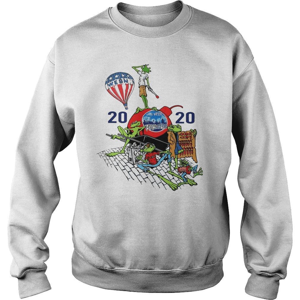 Webn Fireworks 2020 T Sweater