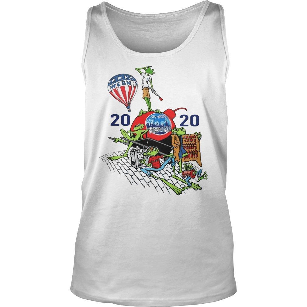 Webn Fireworks 2020 T Tank Top
