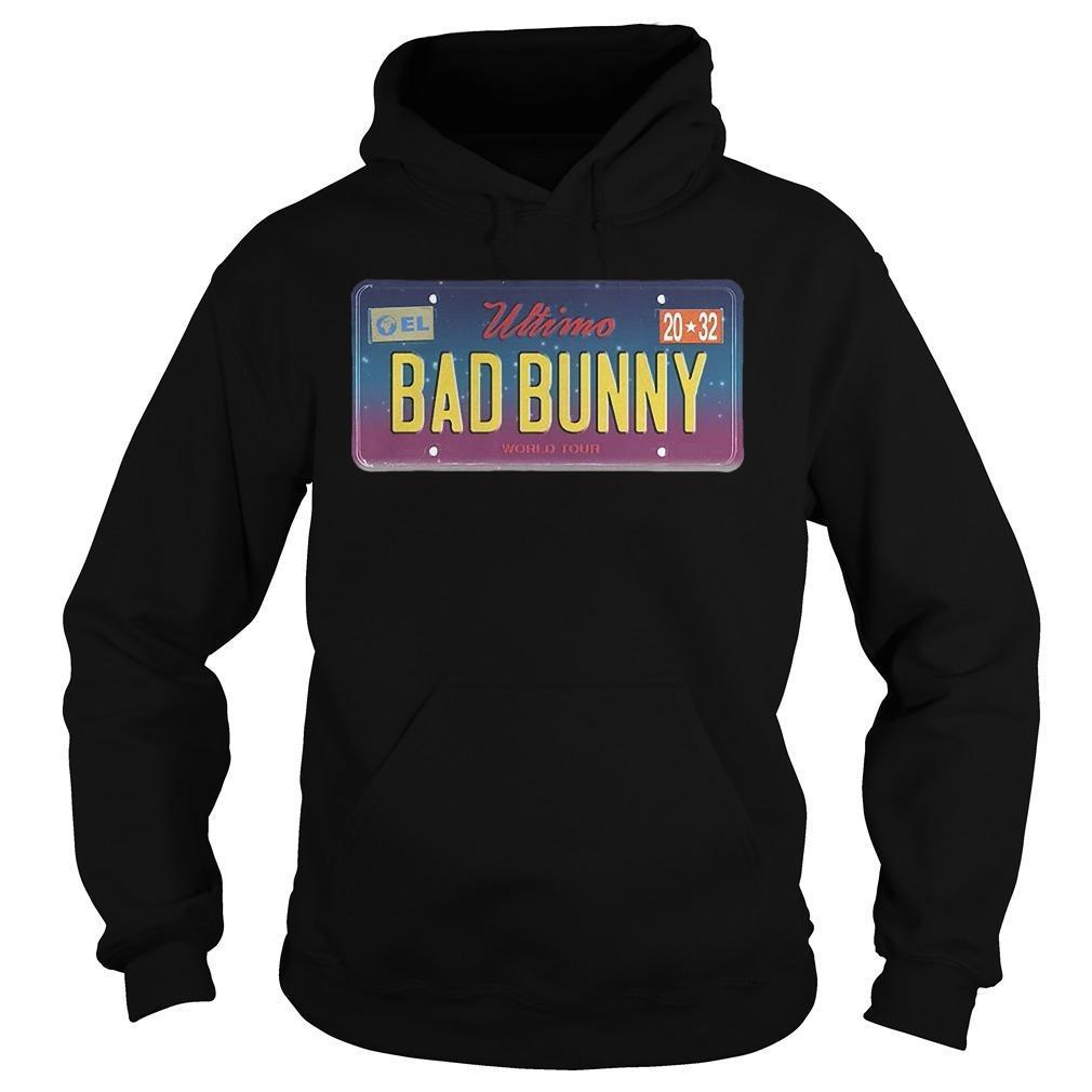 Wtimo World Tour Bad Bunny Hoodie
