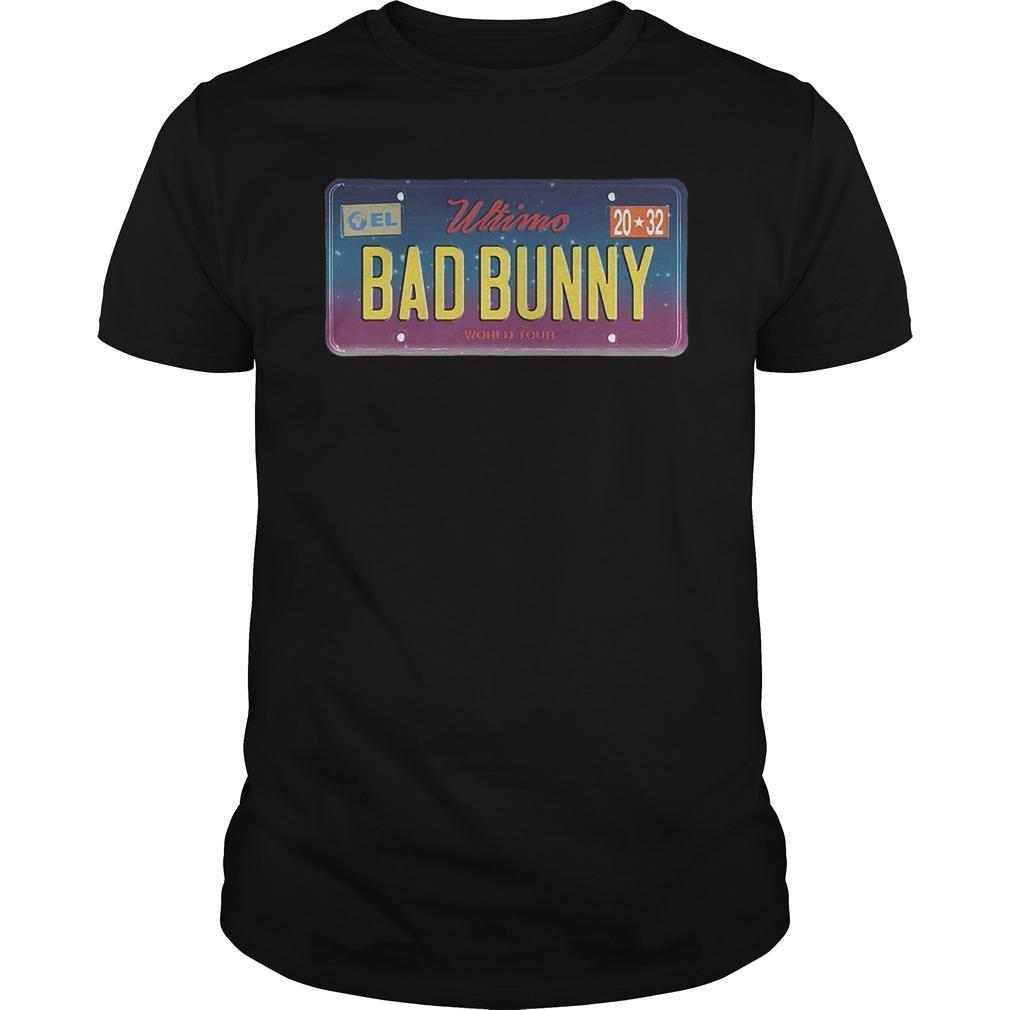 Wtimo World Tour Bad Bunny Longsleeve