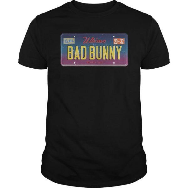 Wtimo World Tour Bad Bunny Shirt