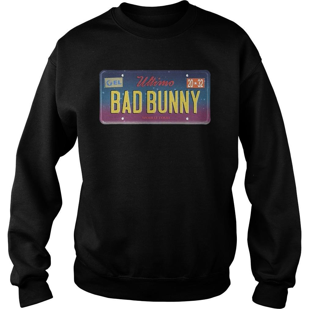 Wtimo World Tour Bad Bunny Sweater