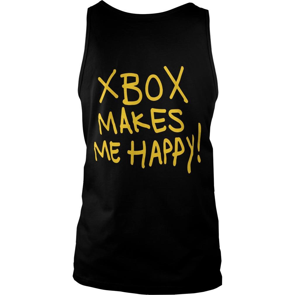 Xbox Makes Me Happy Tank Top