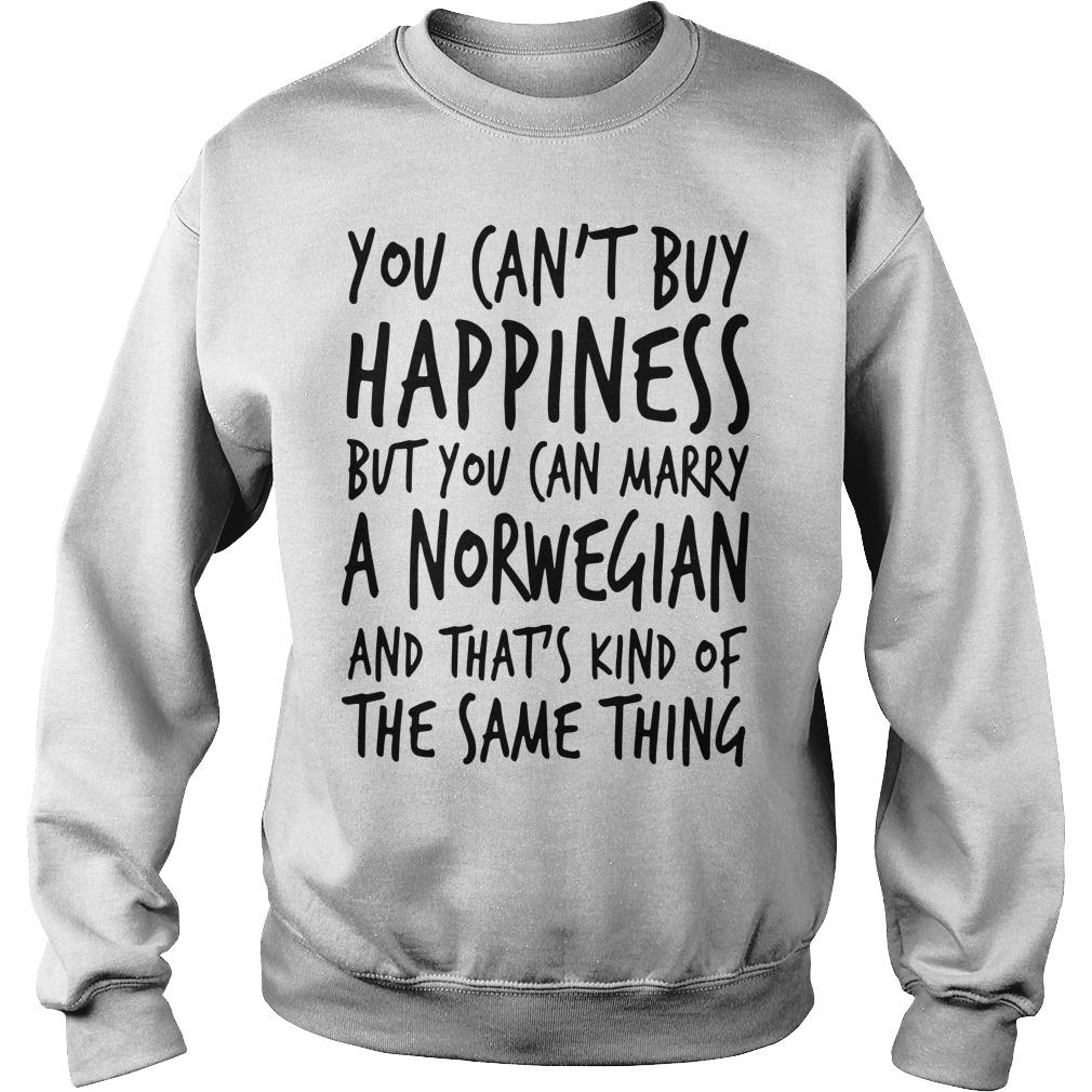 You Can't Buy Happiness But You Can Marry A Norwegian Sweater