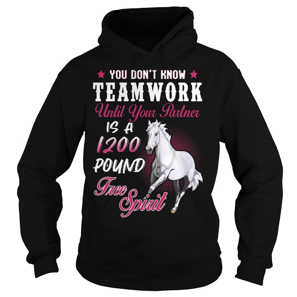 You Don't Know Teamwork Until Your Partner Is A 1200 Pound Hoodie
