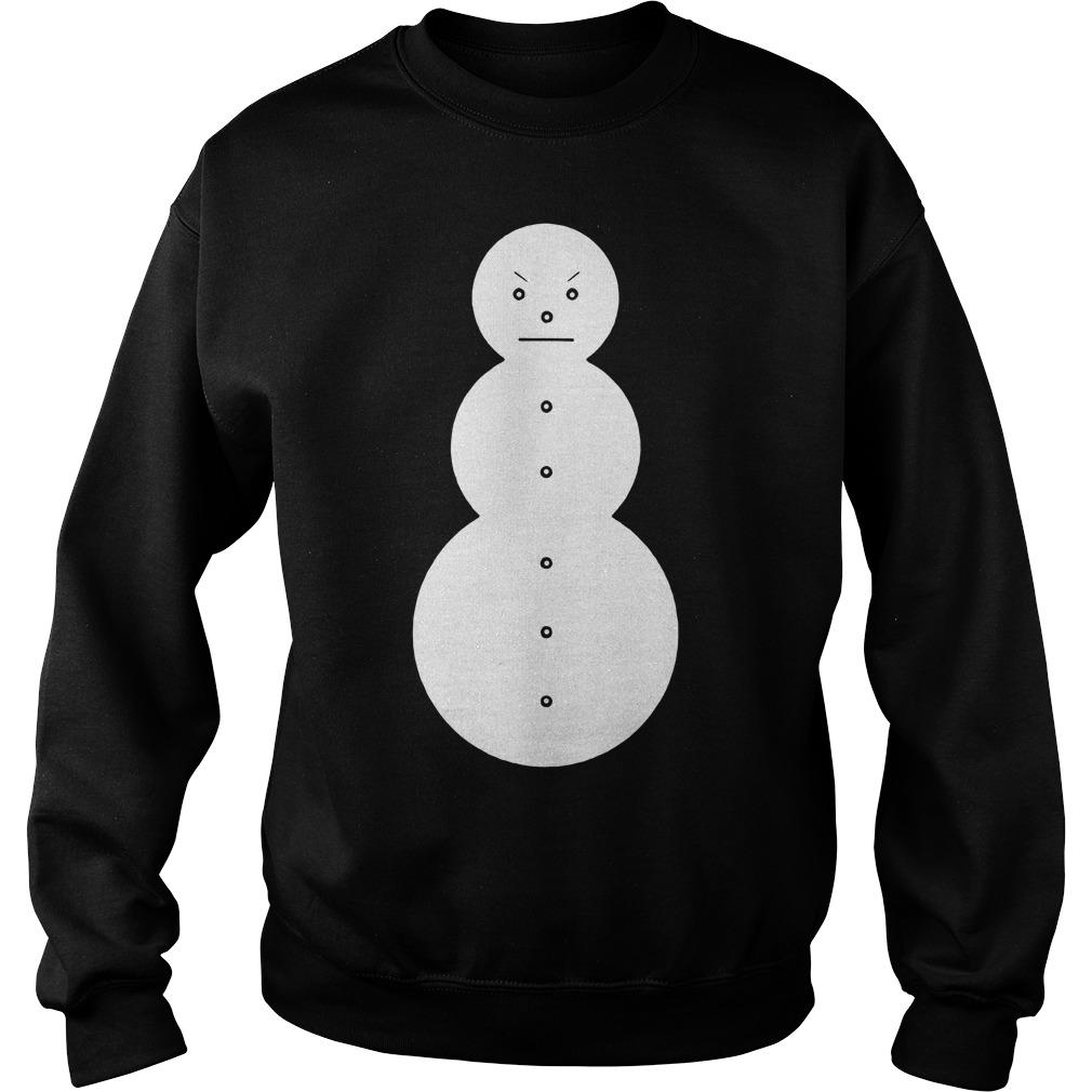 Young Jeezy Snowman Sweater