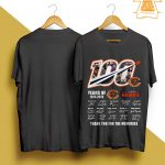 100 Years Of Chicago Bears Thank You For The Memories Shirt