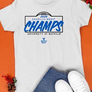 2020 Camellia Bowl Champs University At Buffalo Shirt