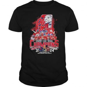 2020 Egg Bowl Champions Ole Miss Rebels Mississippi State 31 24 Shirt