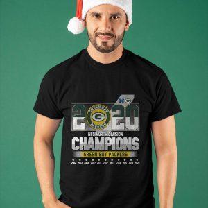 2020 Green Bay Packers Nfc North Division Champions Shirt