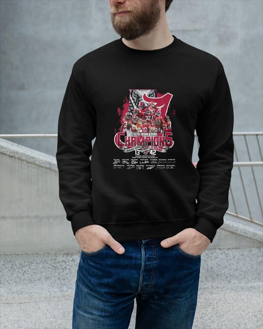 2020 Iron Bowl Champions Auburn Tigers Alabama Sweater
