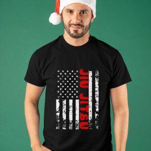 American Flag Jiu Jitsu Shirt