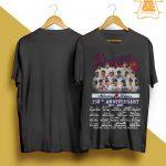 Atlanta Braves 150th Anniversary Thank You For The Memories Shirt