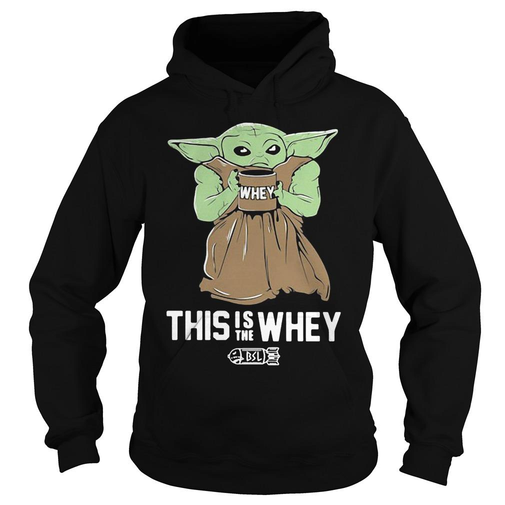 Baby Yoda This Is The Whey Hoodie