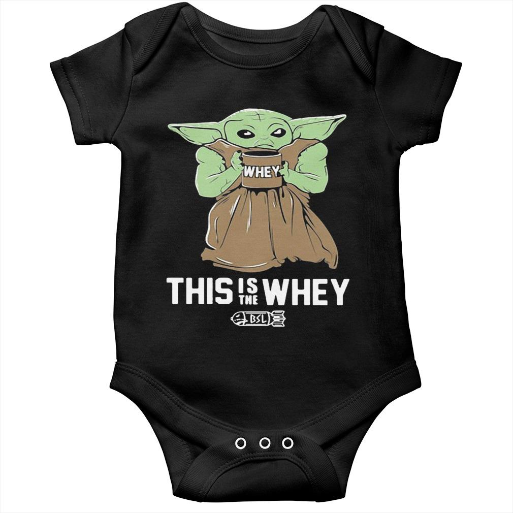 Baby Yoda This Is The Whey Longsleeve
