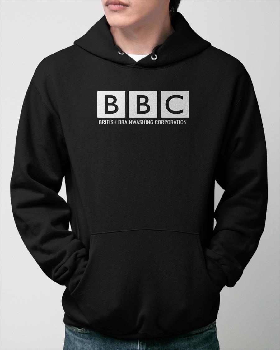 Bbc British Brainwashing Corporation Hoodie