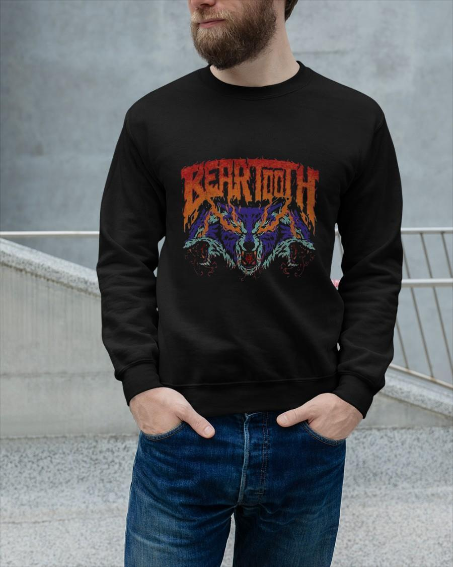 Beartooth Fire Eyes Glow In The Dark Sweater